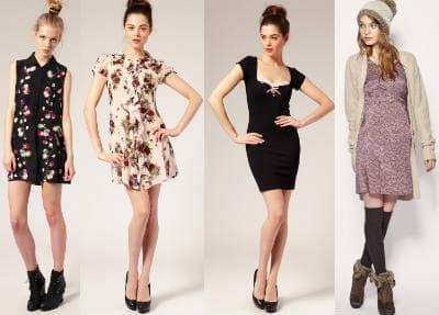 Модные платья. Фото