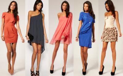 Воздушные модели модных платьев