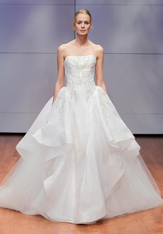 Самое красивое пышное свадебное платье