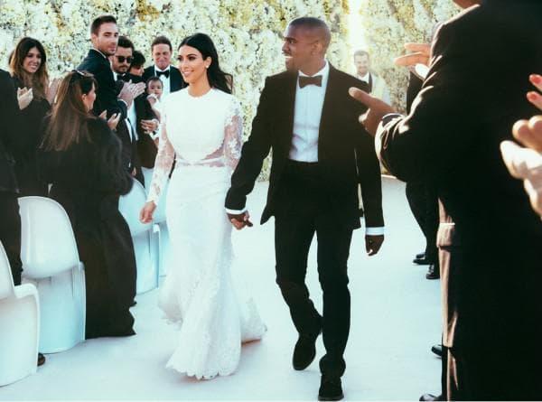 Свадебное платье Ким Кардашян