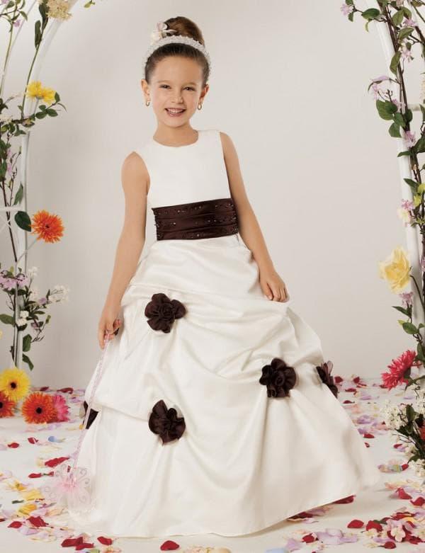 Платье-принцесса для девочек 13 лет