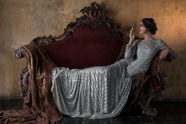 Роскошное винтажное свадебное платье