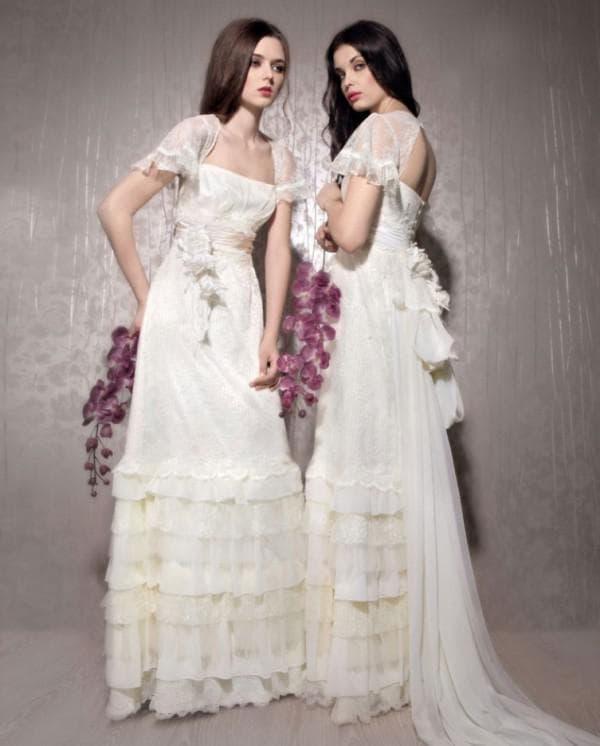 Макияж и прическа для невесты в стиле прованс