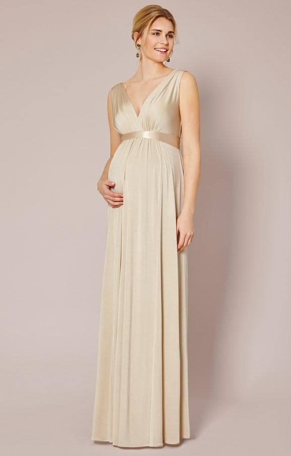 Вечернее платье для беременной в стиле ампир