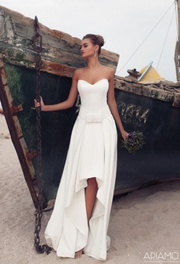 Модное свадебное платье трансформер