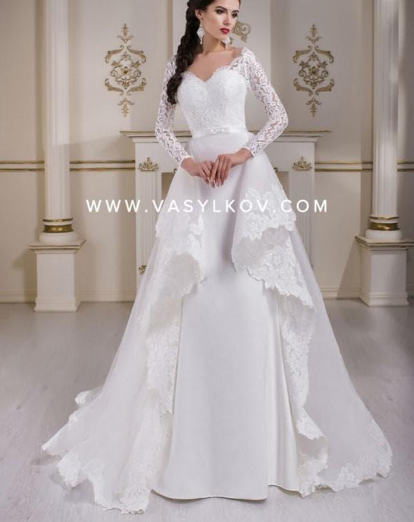 Роскошное свадебное платье Vasylkov