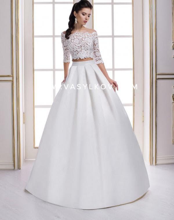Свадебное платье принцесса от Васильков