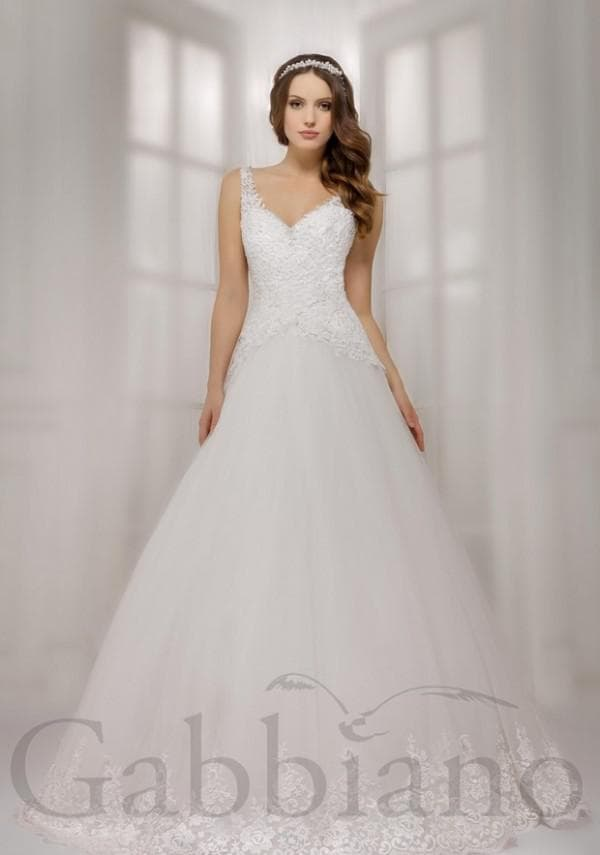 Свадебное платье принцесса в пол