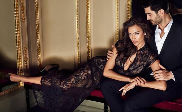 Черное ажурное длинное платье в пол