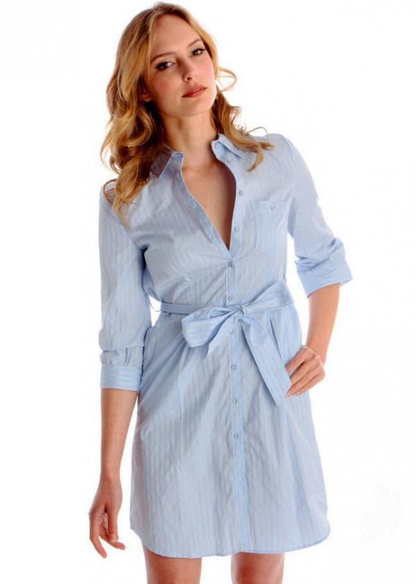Модное платье рубашка