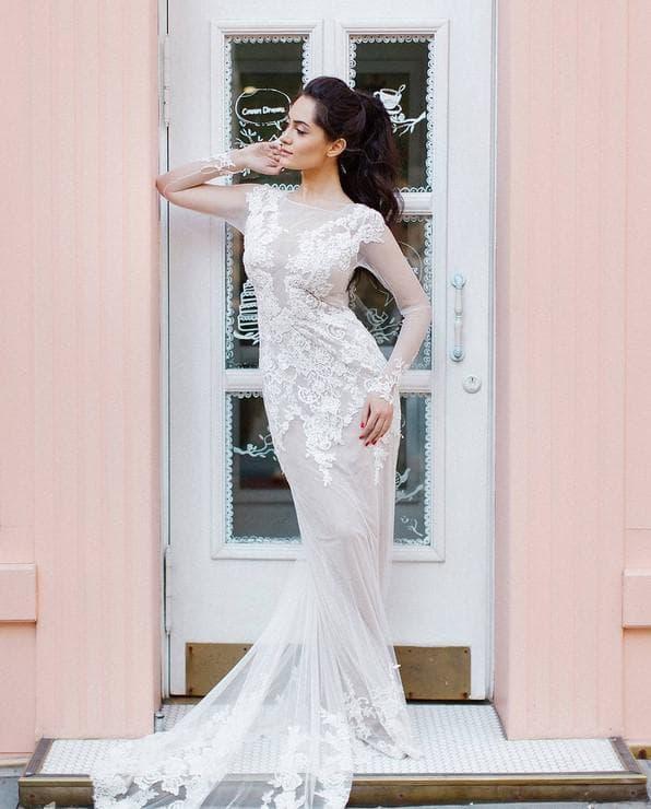 Русское свадебное платье