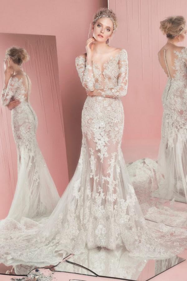 Дизайнерское свадебное платье 2016