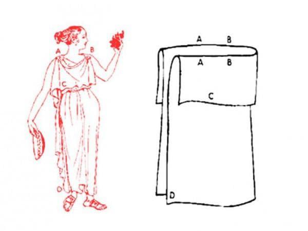 Выкройка для недорогого свадебного платья