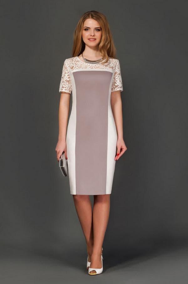 Трикотажное платье от белорусских производителей