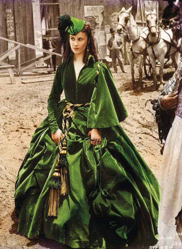 Платье Скарлетт Охара из Унесенных ветром