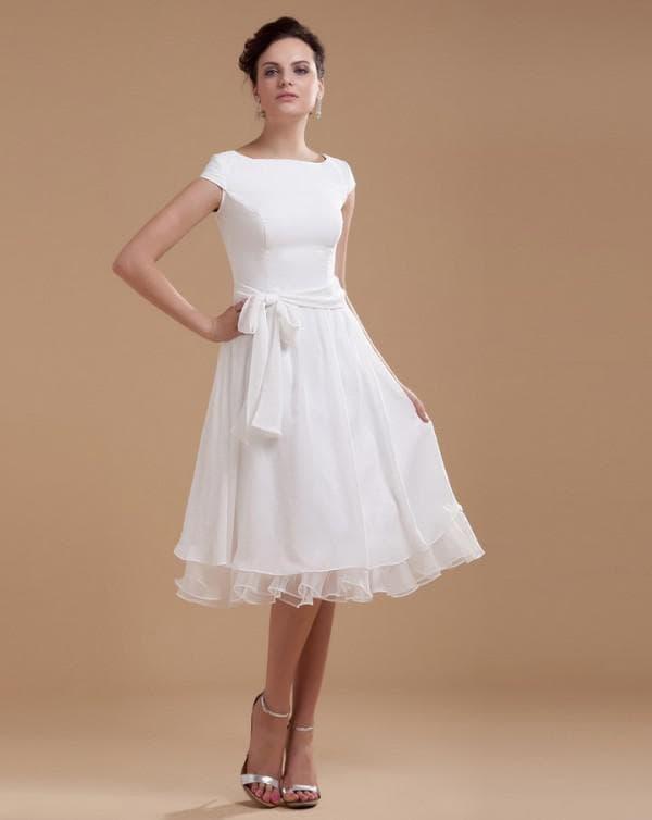 Свадебное платье котрое можно надеть после церемонии