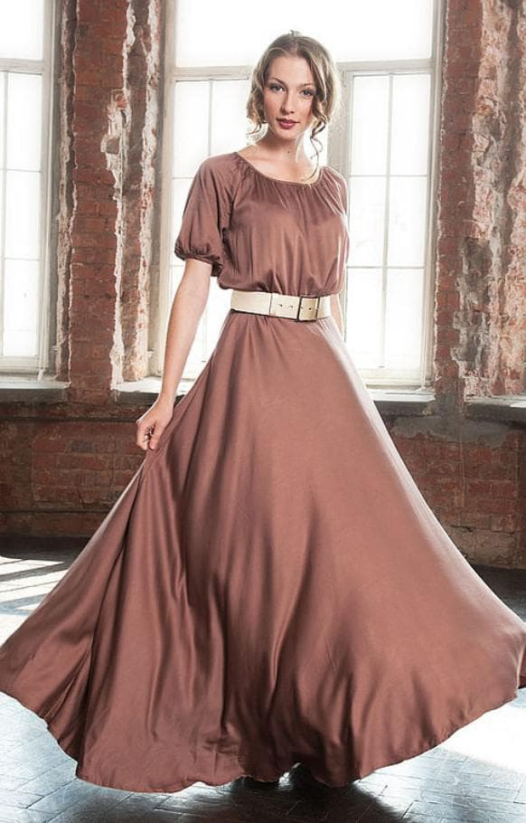 Вечернее платье барышня крестьянка