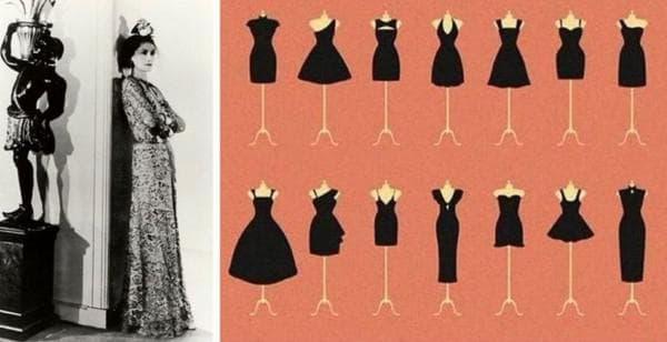 Базовые фасоны маленького черного платья