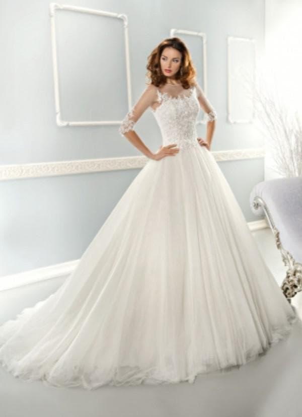 Пышное платье для венчания