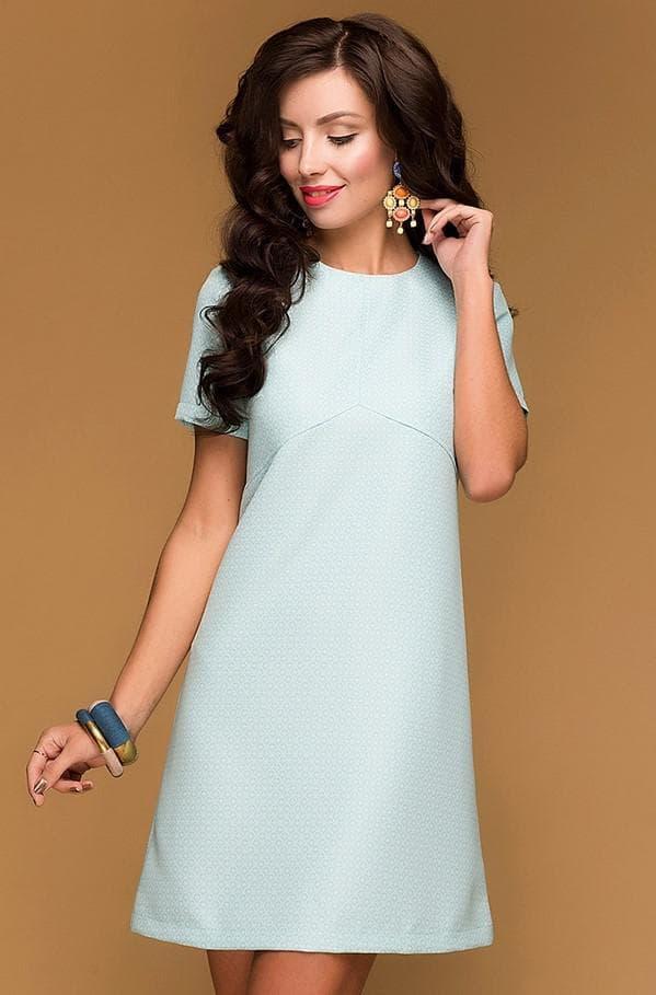 Аксессуары к светло голубому платью