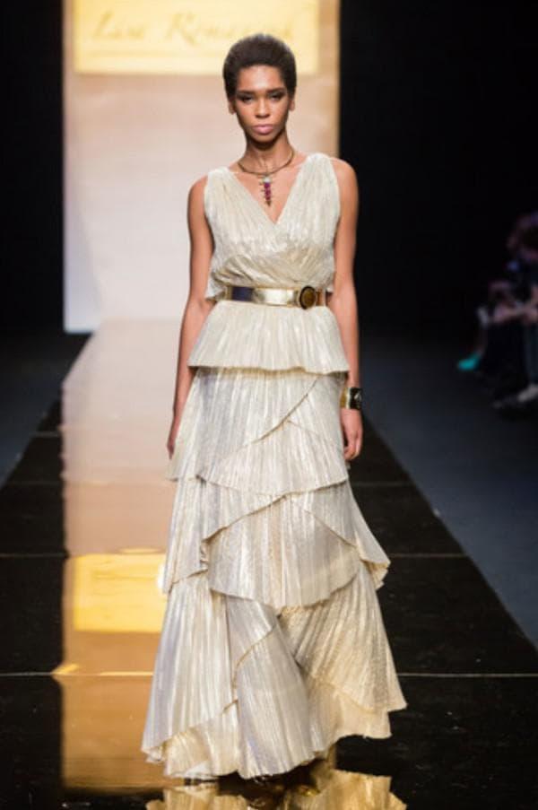 Вечернее платье от Лизы Романюк