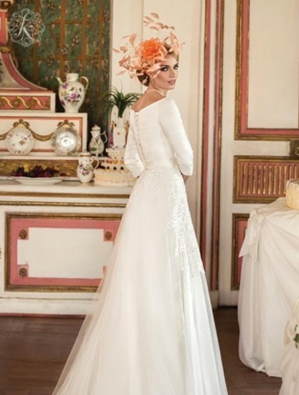 Подвенечное платье для невесты после 40