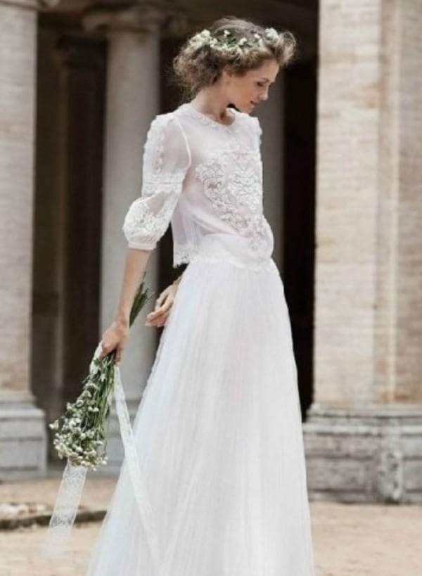 Дизайнерское платье для венчания