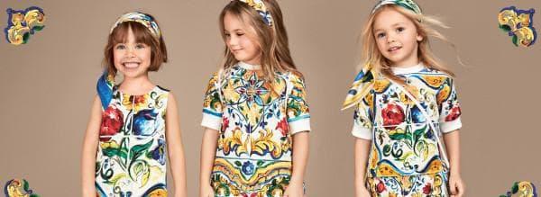 Детские платья в итальянском стиле