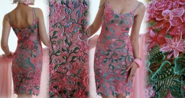 Ирландское кружевное платье Эдем