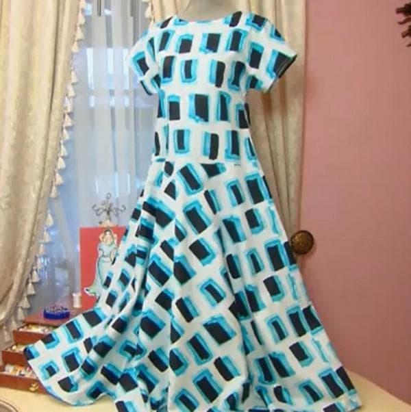 Повседневное платье от Ольги Никишичевой
