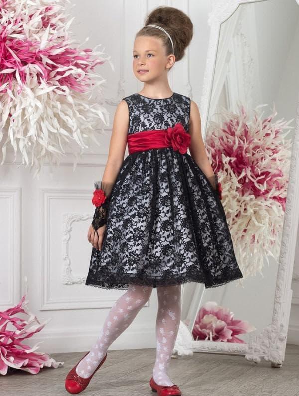 Платье на выпускной в садике в стиле стиляги