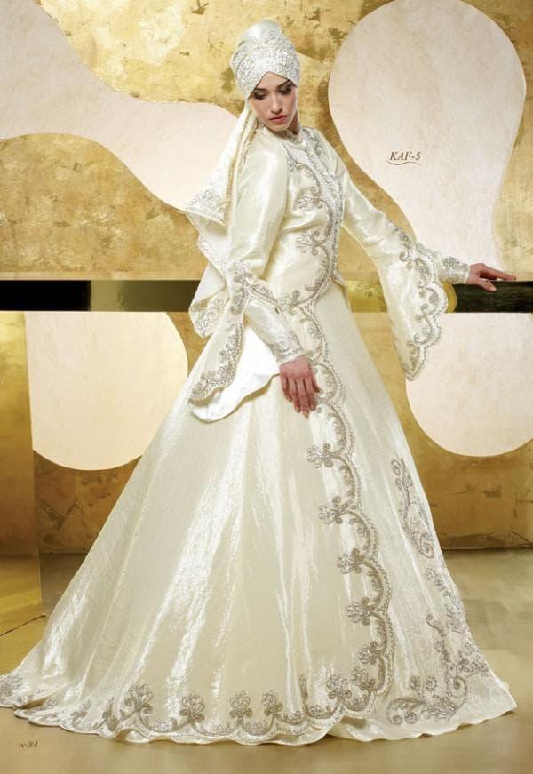 Турецкое свадебное платье