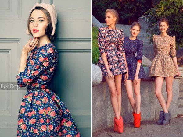 Винтажные платья от Ульяны Сергеенко