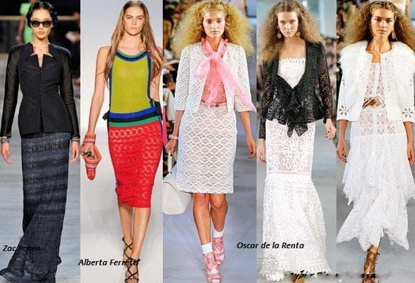 Модные платья с подиума