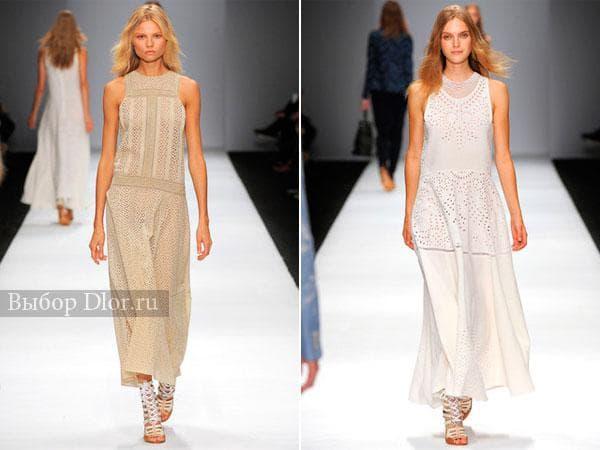Фото оригинальных моделей платьев от Vanessa Bruno