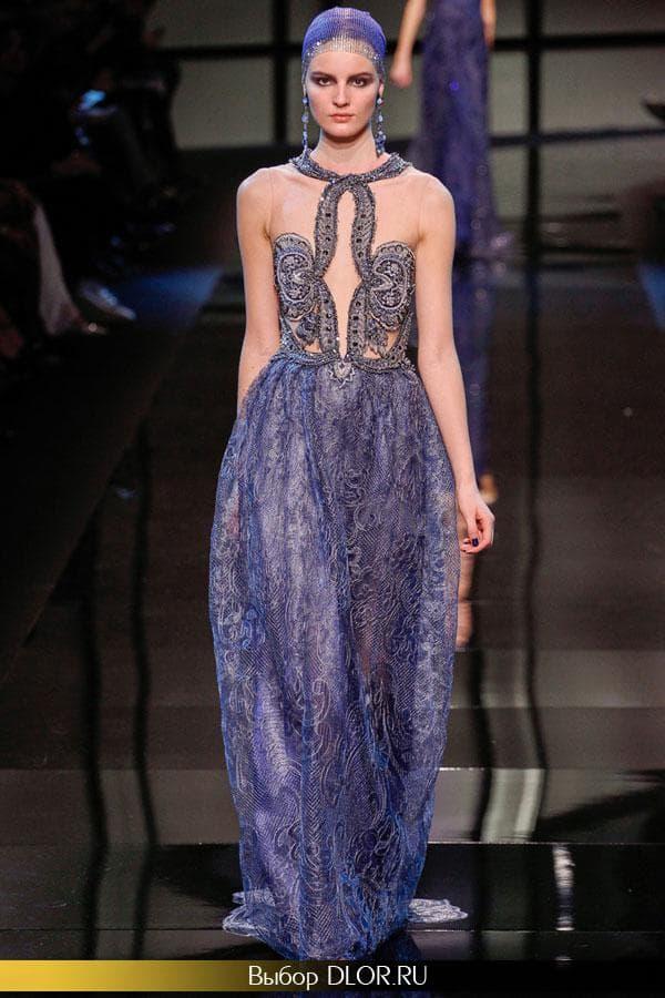 Стильное платье в греческом стиле на выпускной от Armani