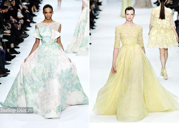 Платья Elie Saab 2012