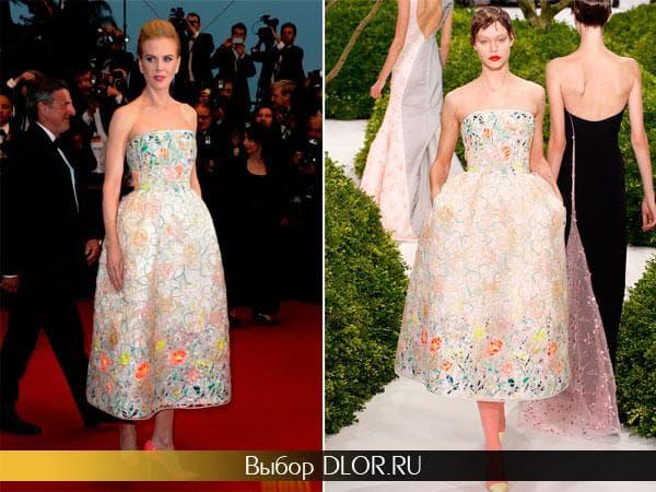 Николь Кидман в платье от Christian Dior