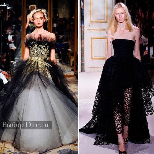 Черные свадебные наряды от Giambattista Valli