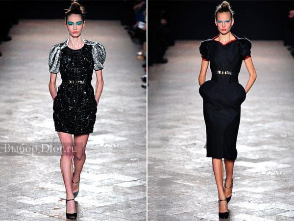 Черные обтягивающие платья