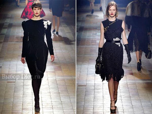Бархатное платье и гипюровое без рукавов