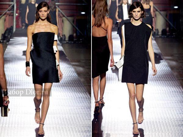 Маленькое черное платье от знаменитых дизайнеров