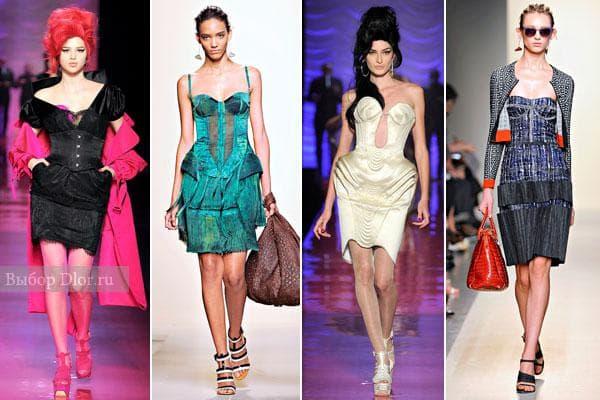 Коллекция платьев 2012