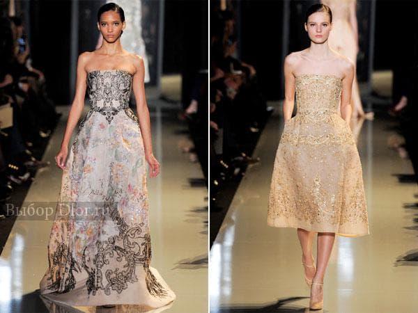 Нарядные женские платья от Elie Saab