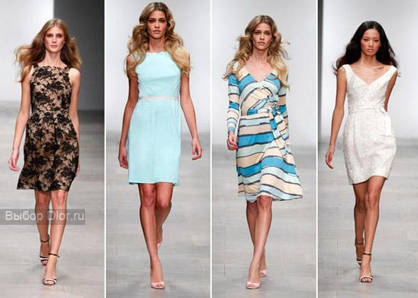 Фото классических платьев