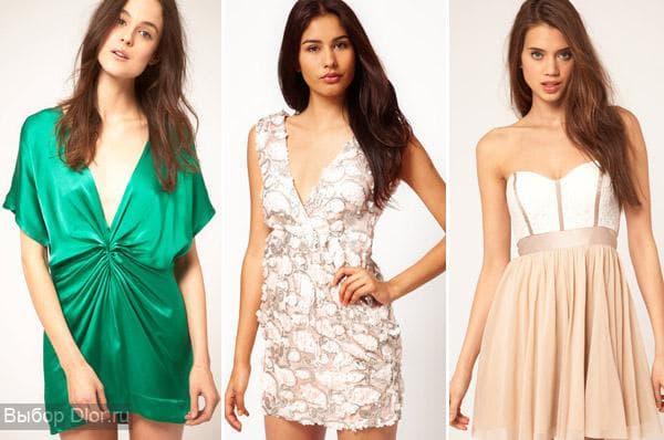 Фото мини-платьев