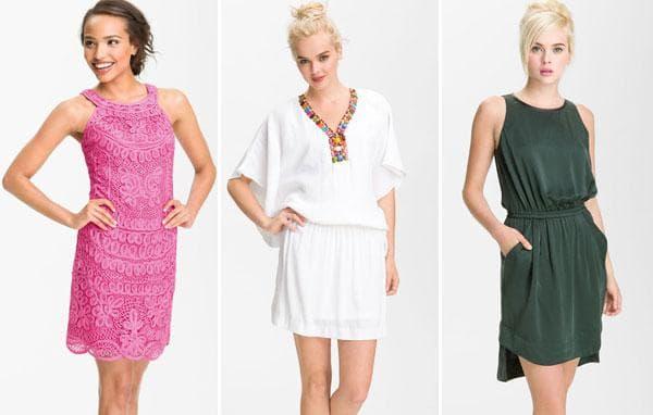 Розовое кружевное платье, белое с бисером, темно-зеленое платье