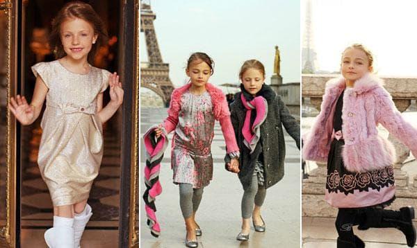 Розовые платья для маленьких принцесс