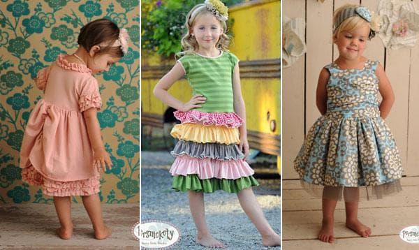 Розовое платье, серо-голубое, яркое платье ниже колен с рюшами