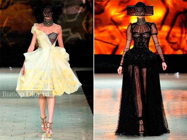 Дизайнерские платья от Alexander McQueen